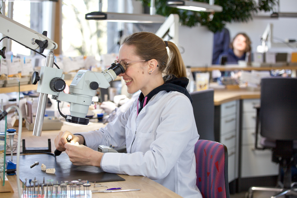 Kiermeir Zahntechnik - Labor - Leistungen - Mikroskopisch präzise Versorgungen